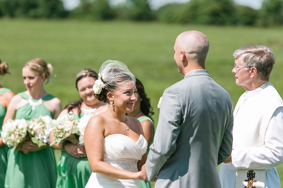 An outdoor summer wedding at Irons Mill Farmstead with Lauren and Robert.