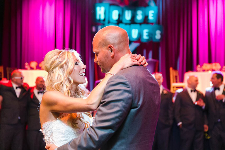 A House of Blues wedding in Cleveland with Jess & Ryan.