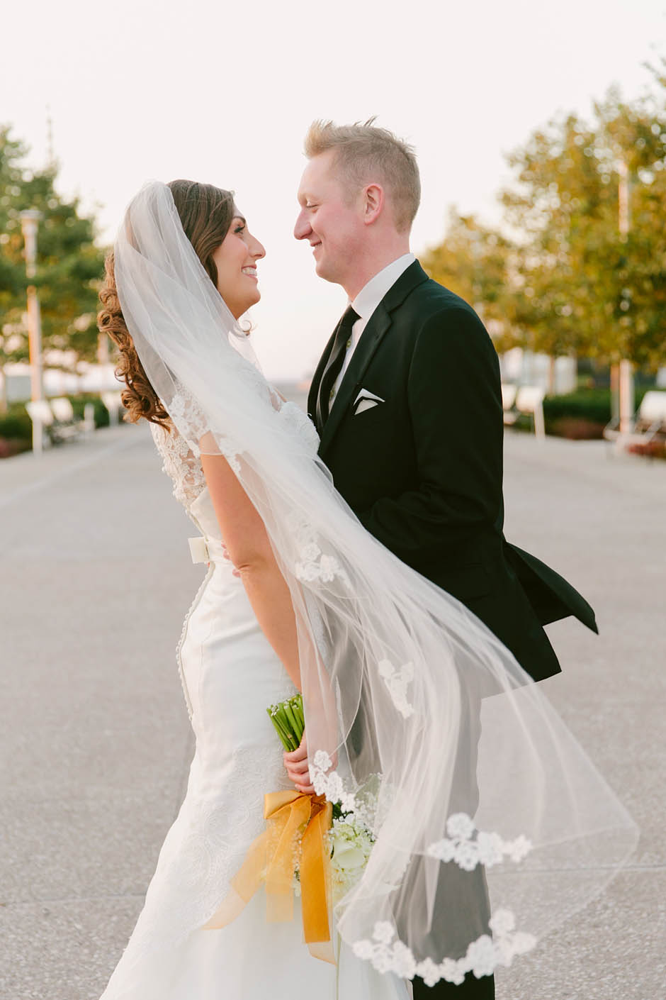 A fall wedding at The Galleria with Suzie and Jack.