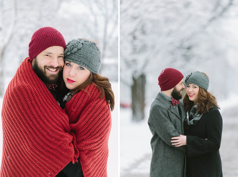 Jeremy and Heather Valentine's Day Couple Shoot in Cleveland, Ohio on February 2, 2014