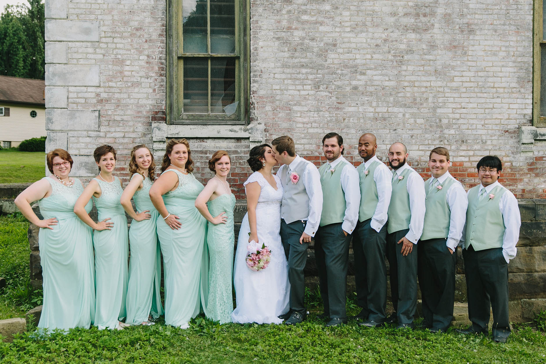 A summer wedding at St. Mary's in Massillon and St. George's Cultural Center with Jess & Joel.