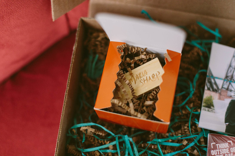 Maria Sharp Photography packaging for 2015 clients.