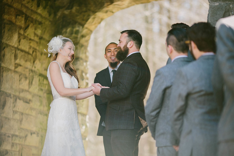 A spring wedding at Squire's Castle with Jess & Devin.