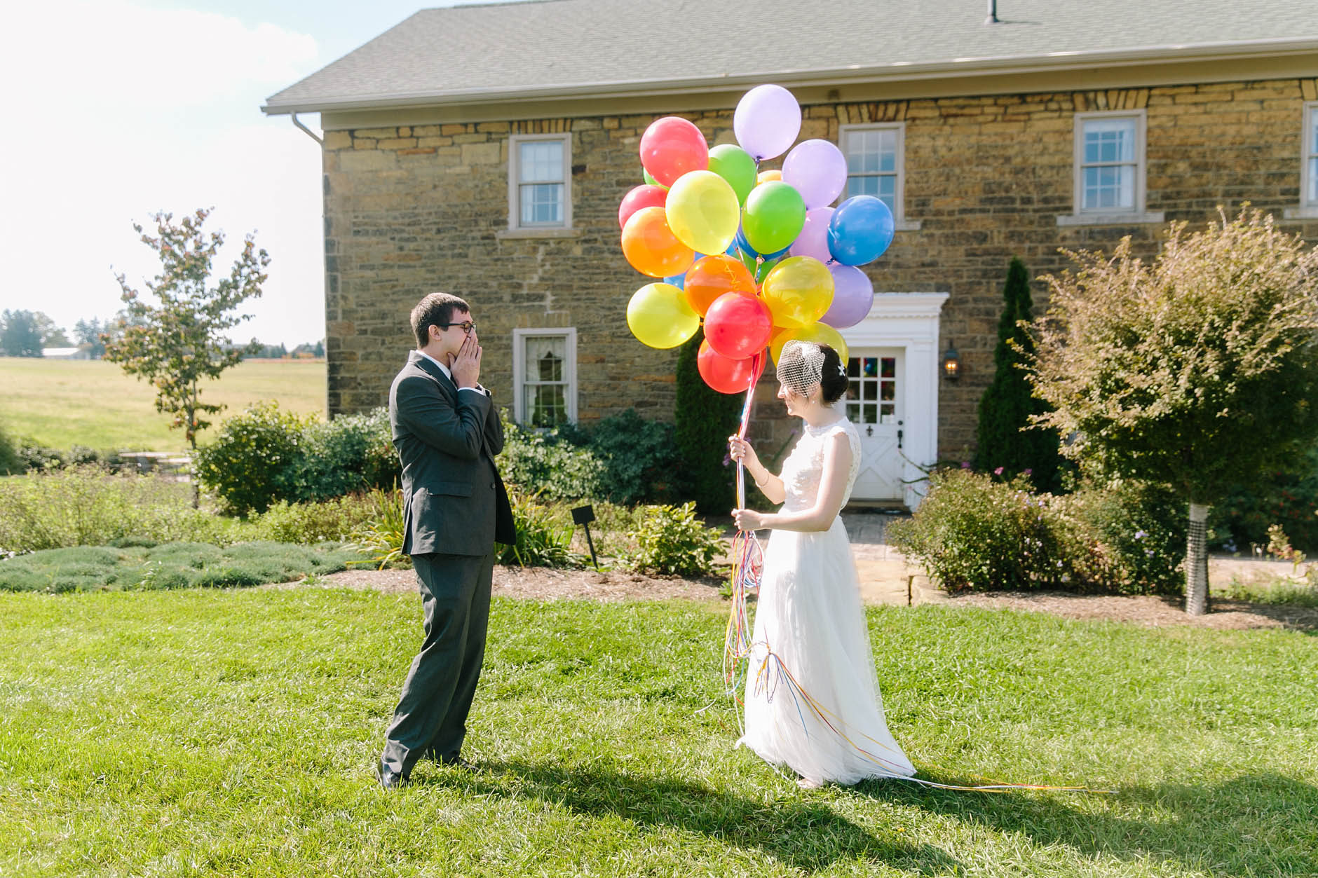 A fall wedding at the Excelsior Room and Secrest Arboretum in Wooster with Rachel & Matt.