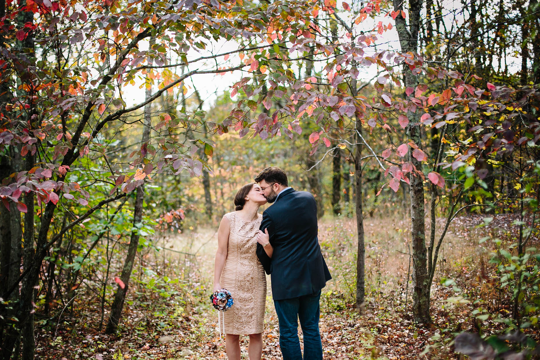 A Hocking Hills wedding with Taylor & Steven.