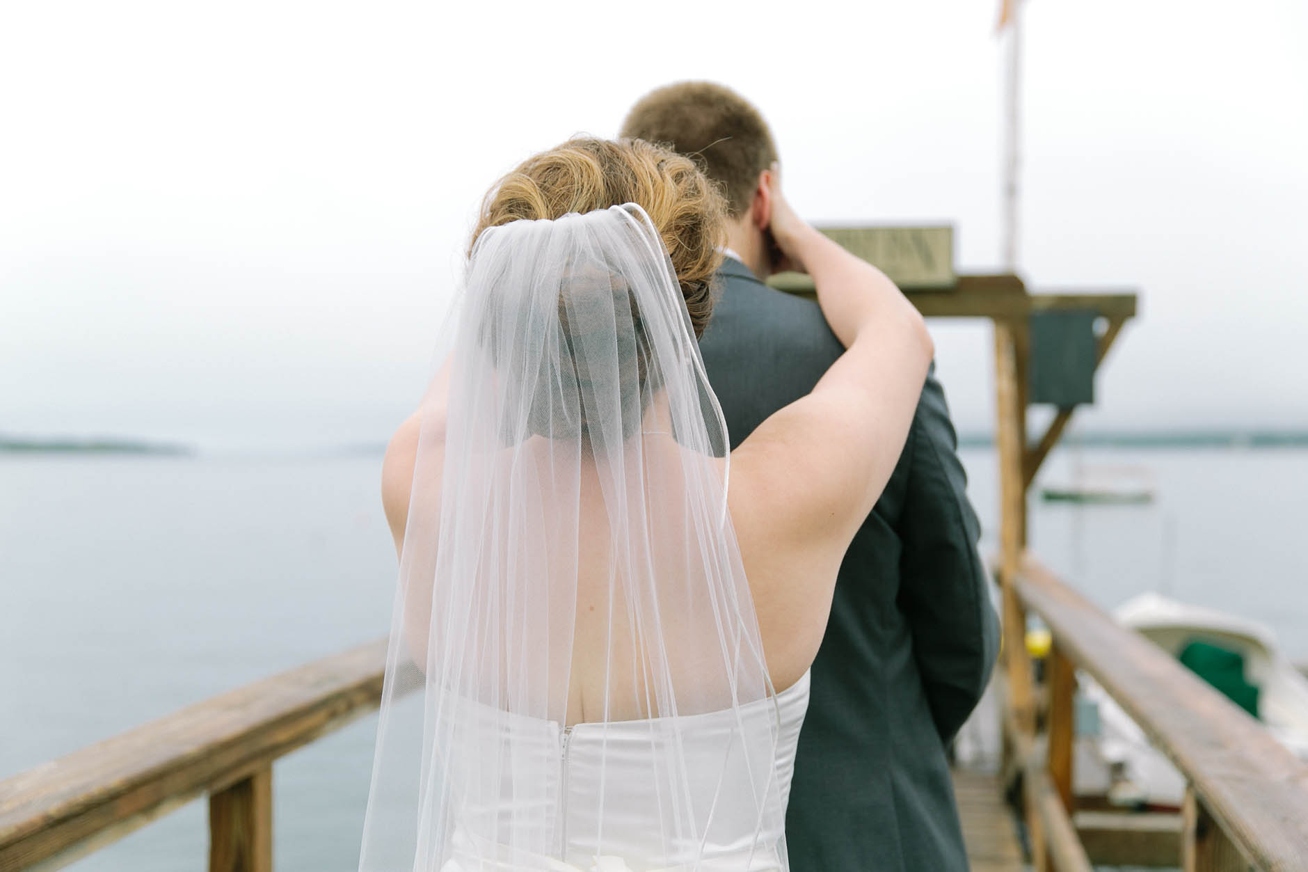 A summer wedding at the Spruce Point Inn in Coastal Maine with Yasmeen & Mike.
