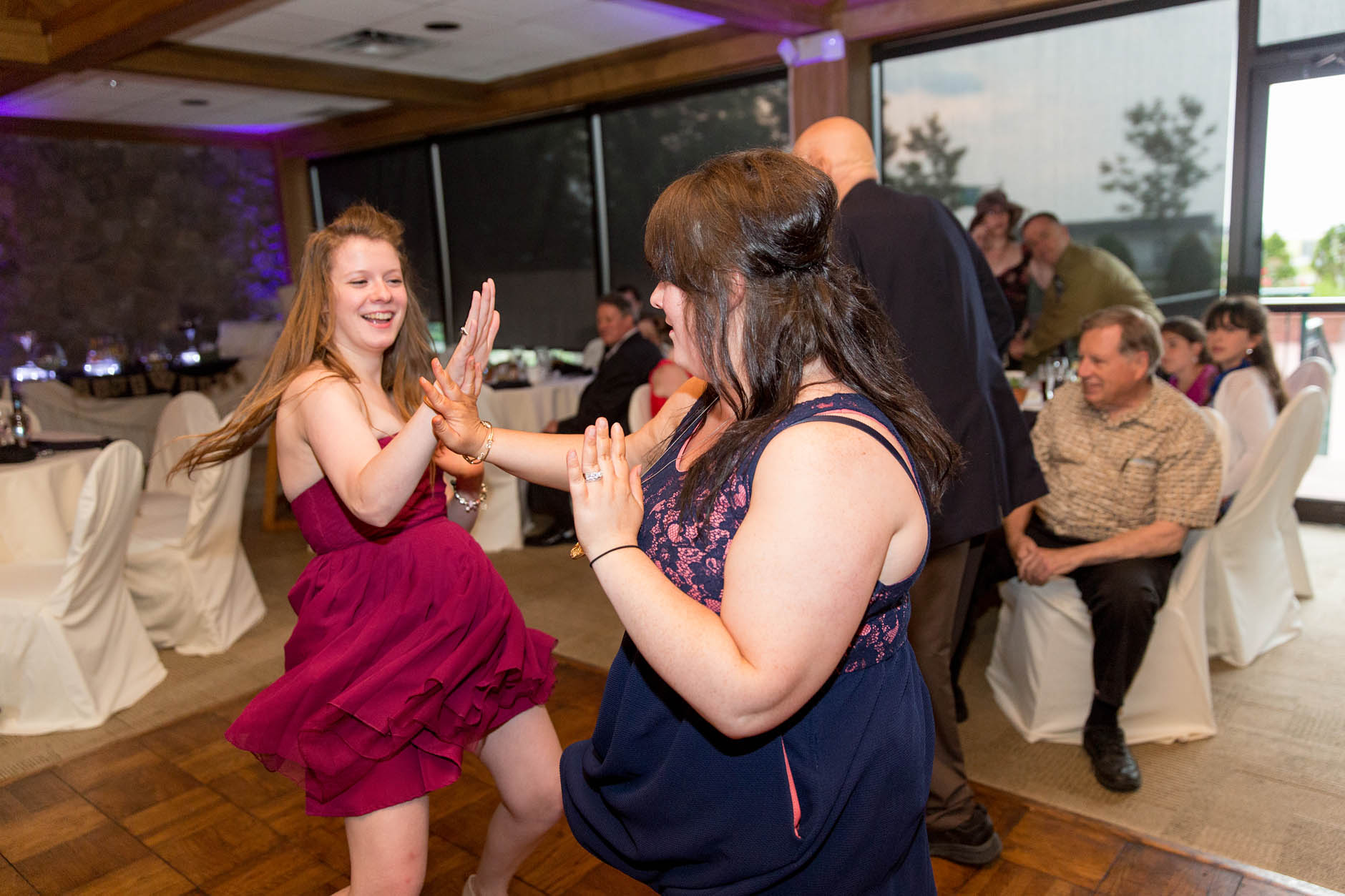 A summer wedding at the 100th Bomb Group and Baldwin Wallace College with Jenny & Mike.