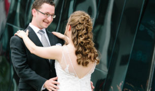A summer wedding at the Natural History Museum in Cleveland with Svetlana & Ilya.