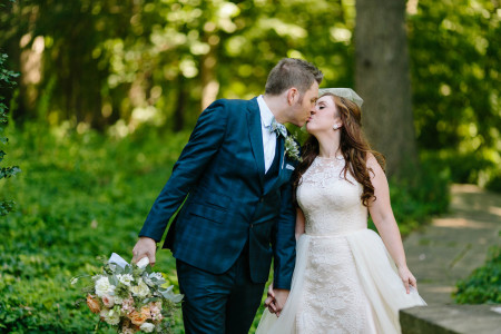 A summer wedding at the Glidden House with Amber & Jeff.
