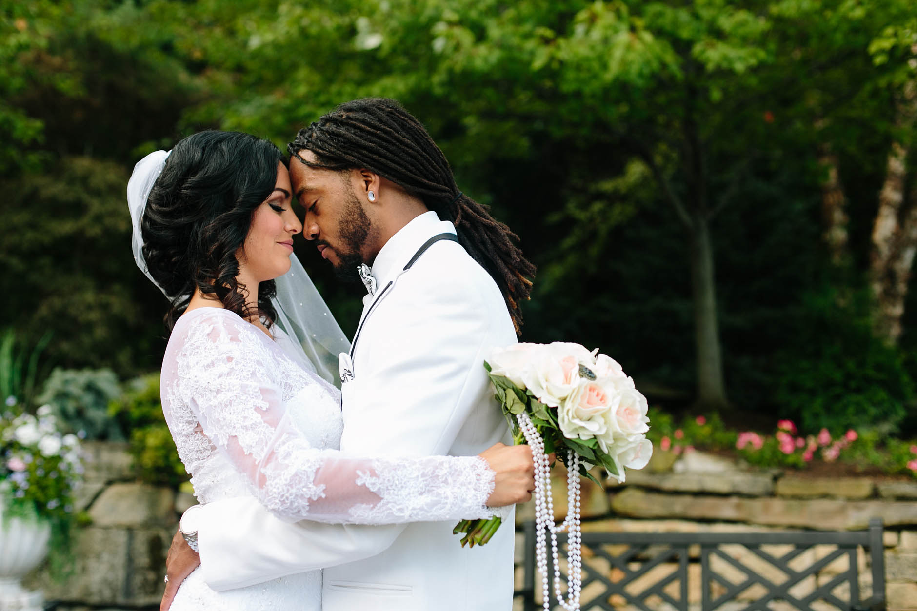 A fall wedding at Tom's Country Place with LaRay & Justin.