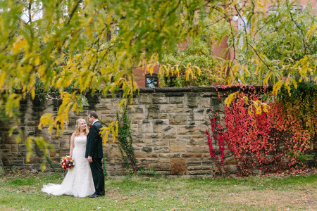 A fall wedding at Gray's Armory with Megan & Jason.
