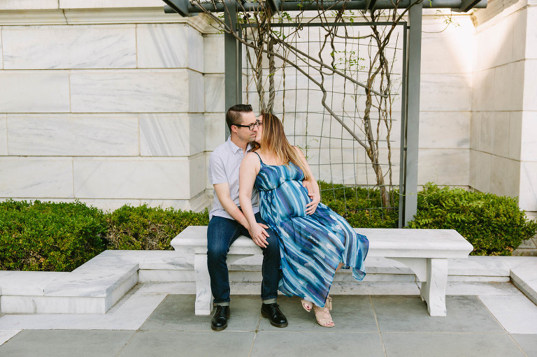 spring-maternity-session