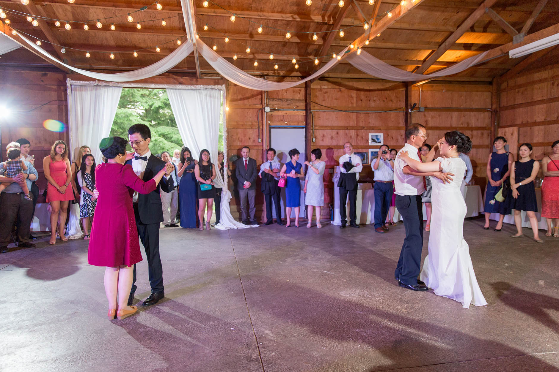 father-daugher-mother-son-dance-wedding