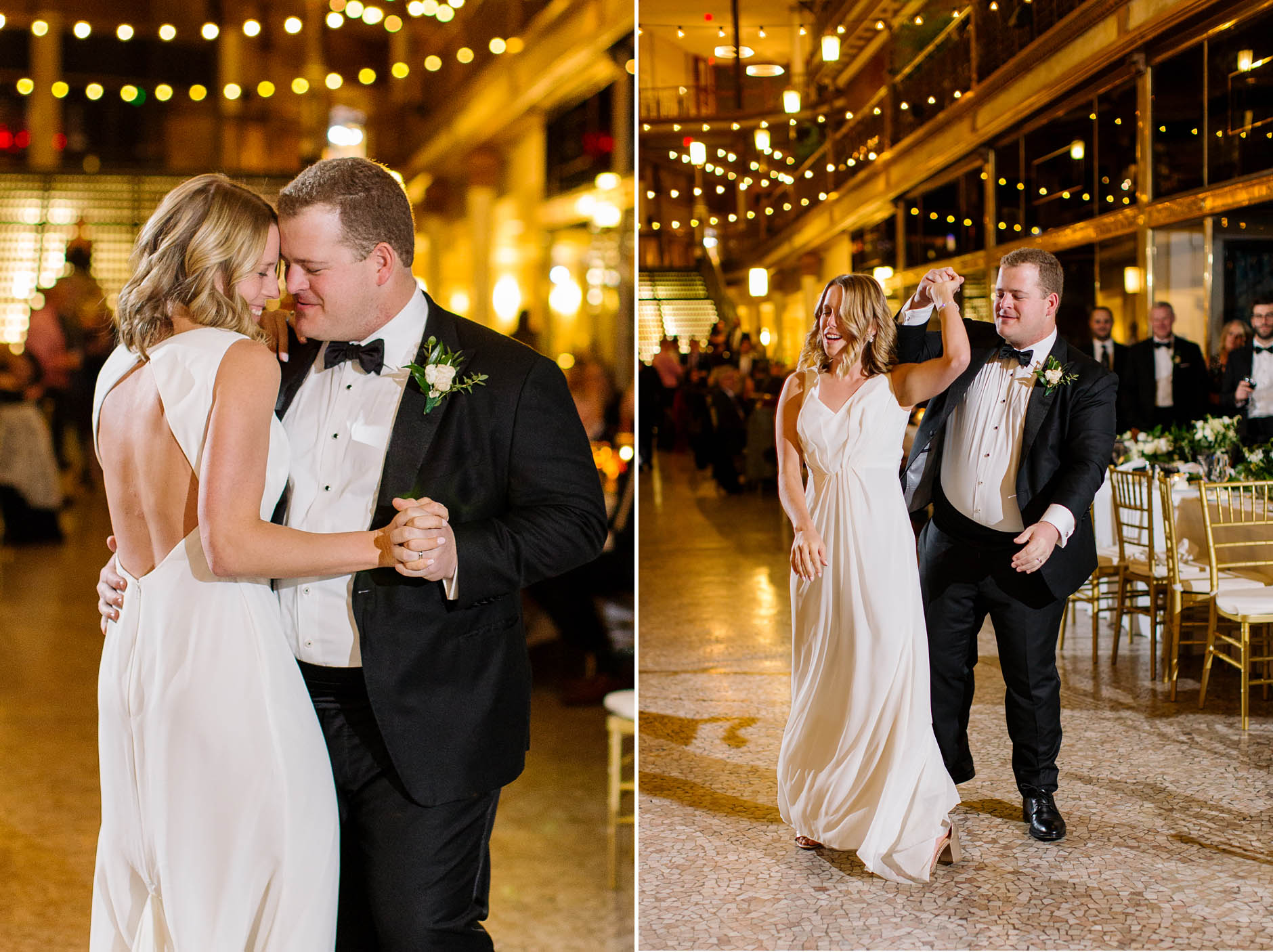 Hyatt Arcade wedding with Jen & Matt.