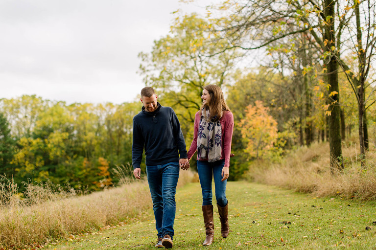 fall-engagement-session-cleveland