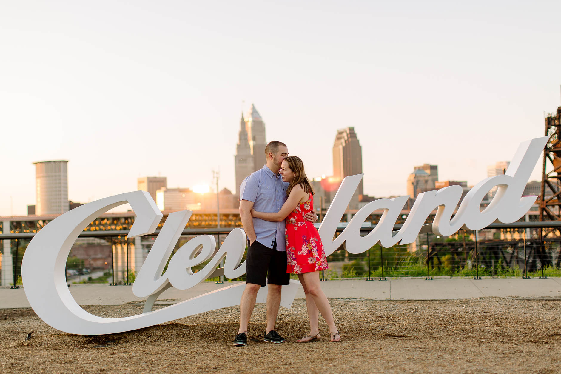 Cleveland engagement session with Merissa & Zack.