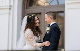 Cleveland History Center & Natural History Museum wedding with Natalie & Alex.