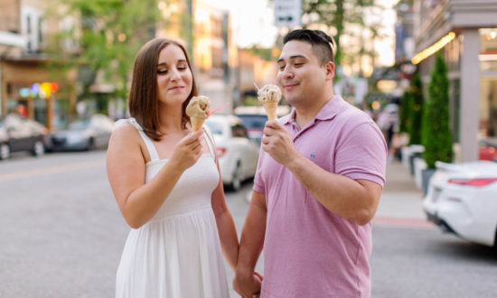 Summer engagement session with Michelle & Jacob in Cleveland.